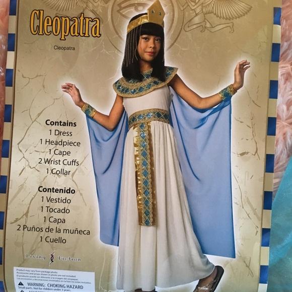 Girls 10-12 Cleopatra Costume  sc 1 st  Poshmark & Costumes | Girls 1012 Cleopatra Costume | Poshmark